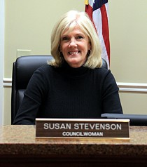 Valdese Councilwoman Susan Stevenson